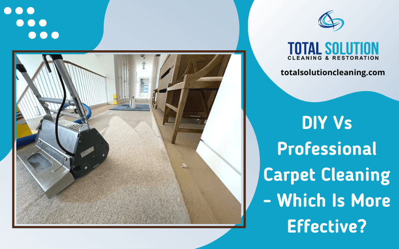 DIY Vs Professional Carpet Cleaning – Which Is More Effective?