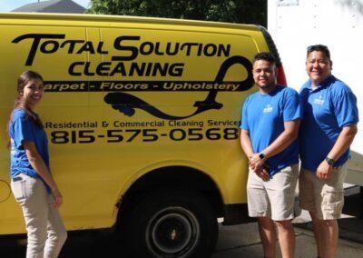 Total Solution Cleaning & Restoration, LLC Van