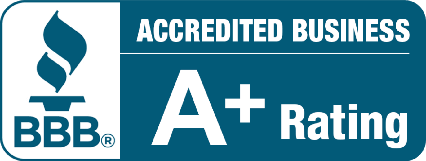 BBB Accredited Business A+ Rating Company