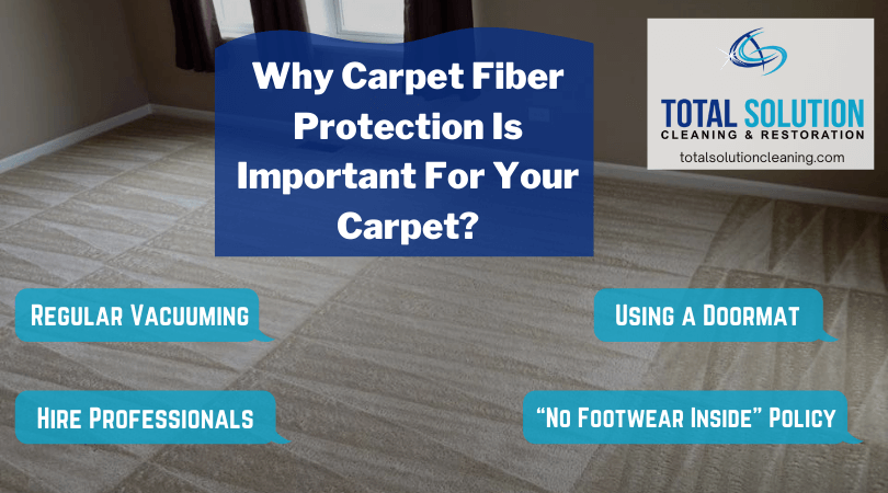 Why Carpet Fiber Protection Is Important For Your Carpet