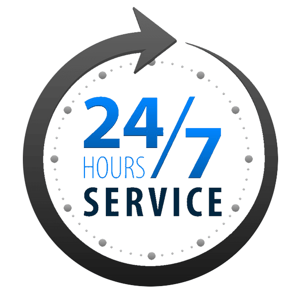 24-7 Hours Service