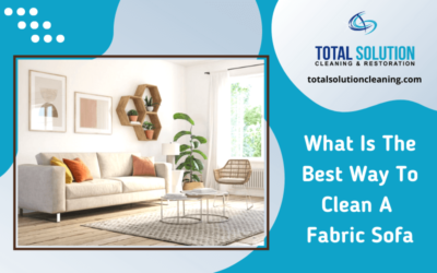 What Is The Best Way To Clean A Fabric Sofa?