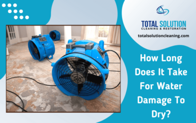 How Long Does It Take For Water Damage To Dry?